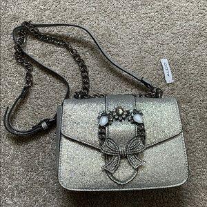 Aldo Silver Crossbody Bag